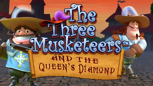 The Three Musketteers and the Queen's Diamond